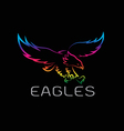 image of an eagles design vector image