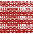 Russian stripes ethnic seamless pattern xoxo vector image