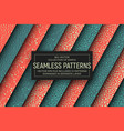 abstract simple seamless patterns vector image