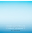 Blue smooth background vector image