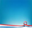 FRANCE BACKGROUND FLAG vector image