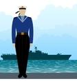 Military Uniform Navy sailor vector image vector image