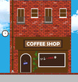 house with a bakery vector image