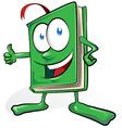 book cartoon vector image vector image