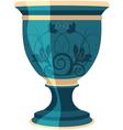 flowerpot flower vase vector image vector image