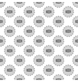 Cover beer seamless pattern vector image vector image