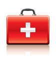 object first aid kit vector image vector image
