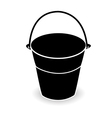 bucket vector image