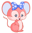 sweet mouse vector image vector image