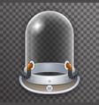 retro realistic helmet 3d cosmonaut astronaut vector image vector image
