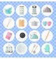Set of utensils and cooking icons Flat style vector image