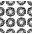 Black Spiral Background vector image