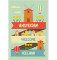 amsterdam vector image vector image
