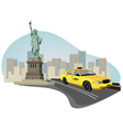 new york elements vector image vector image