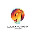letter g logo vector image