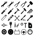 Auto Mechanic Tools set vector image
