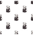 pandaanimals single icon in cartoon style vector image