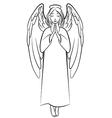 angel nimb vector image