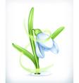 Snowdrop icon vector image