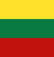 lithuania vector image