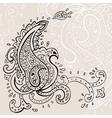 Hand Drawn Paisley ornament vector image