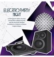 Speaker icon Electro Party design graphic vector image