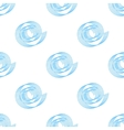 simple background of blue spirals seamless vector image