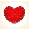 abstract heart background for Saint vector image
