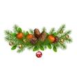 Christmas Holiday Garland vector image