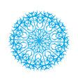 snowflake4 vector image