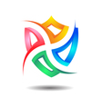 Exclusive Insurance SEcurity Shield Logo Icon vector image