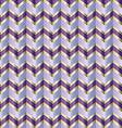 Chevron purple ribbon vector image