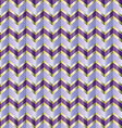 Chevron purple ribbon vector image