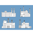 factory set vector image