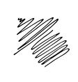 Hand Drawn Arrow Icon vector image