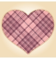 Patch heart vector image