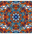 Abstract decorative ethnic floral colorful vector image