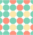 colored polygon seamless pattern vector image