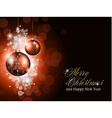 Elegant greetings background vector image