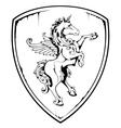 Vintage Horse vector image vector image