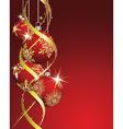 beautiful christmas vector image vector image