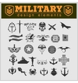 Special unit military patch vector image