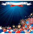 USA celebrations vector image vector image