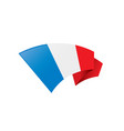 france flag vector image