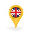 Location United Kingdom vector image