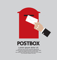 Postbox vector image