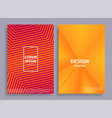 design creative banners set vector image