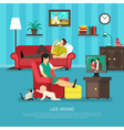 Lazy People vector image