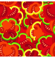 tomato pattern vector image
