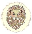 lion 316 vector image